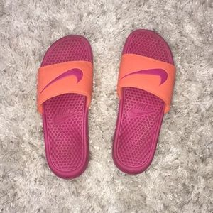 Used condition Nike slides